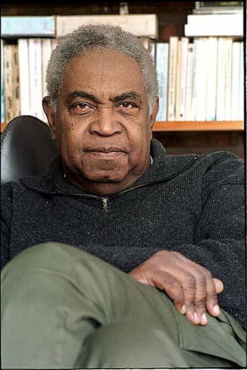 Émile Ollivier, photo © Ludovic Fremaux 2001, Montréal