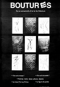 Boutures, couverture, vol 1, numéro 1