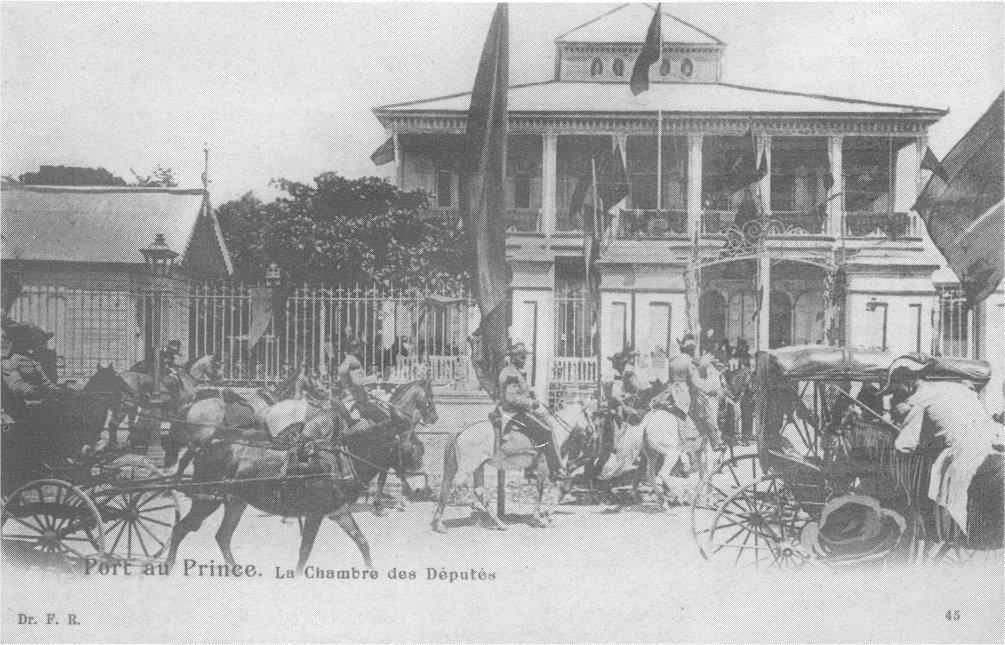 Le Palais de la Chambre des Députés, Port-au-Prince