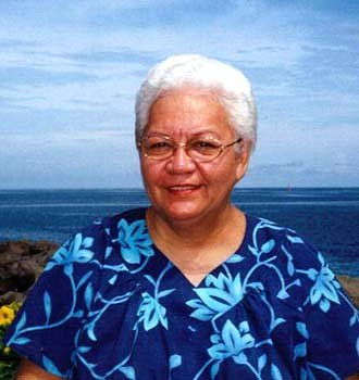 Flora Aurima-Devatine, photo @ Poerava Wong Yen Papeete, 2001