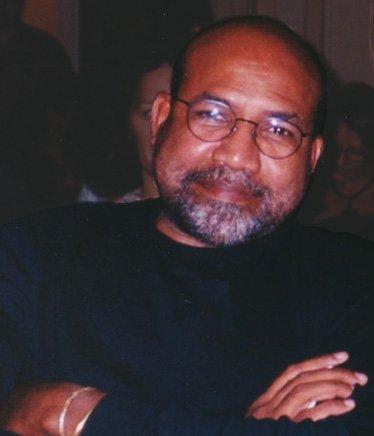 Patrick Chamoiseau, photo prise à l'occasion du Grand Balan à la Maison de L'Amérique latine (Paris) 3 février 2002 © Kathleen Gyssels