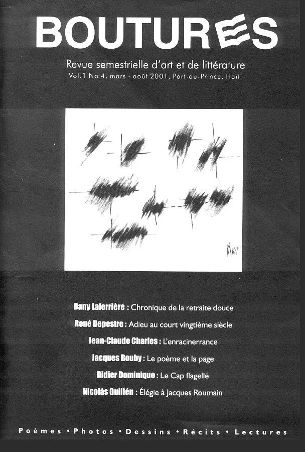 couverture Boutures, vol 1, nº 4