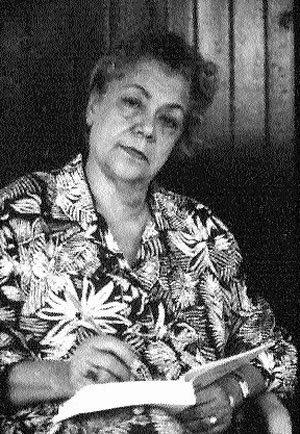 Paulette Poujol Oriol, photo © Jean-François Chalut / CIDIHCA 1992, Port-au-Prince
