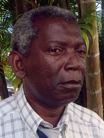 Jean Juraver, photo © Thomas C. Spear Le Gosier (Guadeloupe), le 27 novembre 2008