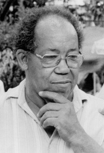 Georges Castera, photo © Jean-François Chalut / CIDIHCA Port-au-Prince, 1992