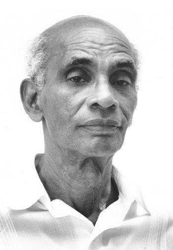Édris Saint-Amand, photo © Jean-François Chalut / CIDIHCA Port-au-Prince, 1992