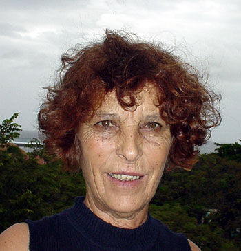 Anne Cheynet, photo © Thomas C. Spear 3 mai 2004, Saint-Pierre (île de La Réunion)