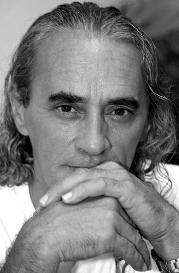 Jean-Marc Tera'ituatini Pambrun, photo © Christian Durocher Papeete, 2004