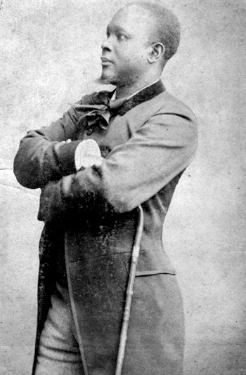 Louis Joseph Janvier, photo des archives du CIDIHCA, D.R.