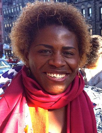 Emmelie Prophète, photo © Thomas C. Spear Le Bronx, 3 mai 2013