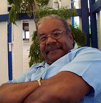 Max Dorsinville, photo © Marielle Dorsinville Sainte-Luce (Martinique), janvier 2007