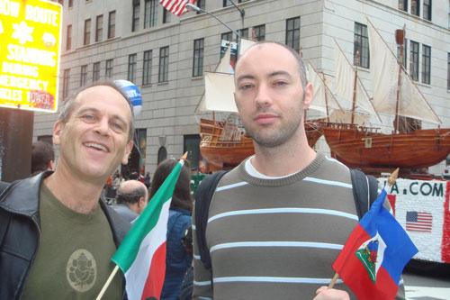 Columbus-Day2 Thomas Spear et Stève Puig