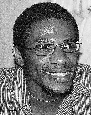 Nassuf Djailani, photo de la collection privée de l'auteur, D.R. Paris, 2006