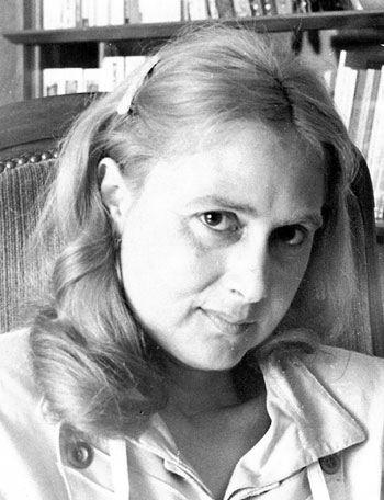 Marie-Thérèse Humbert, photo © Bernard Mariat Ardentes (France), juin 1989