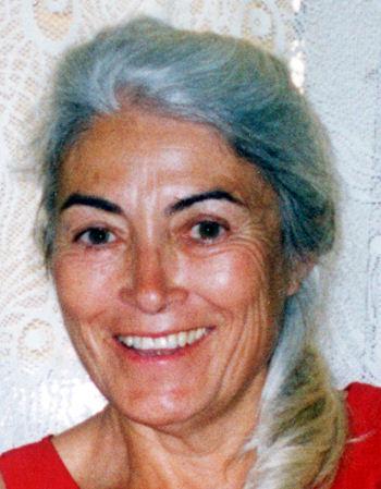 Mireille Nicolas, photo © Maïa Nicolas Sidiè-Bel-Abbès, juin 2003