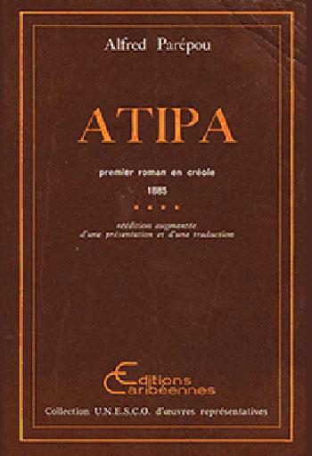 couverture de l'édition 1980 d'Atipa, par Alfred Parépou