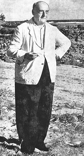 Robert-Edward Hart, photo © Violet Northcott Souillac, vers 1953