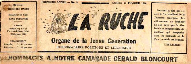 en-tête, La Ruche