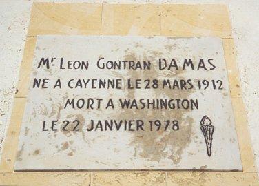 tombeau de Léon-Gontran Damas