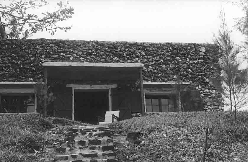 La Nef, la maison à Souillac – faite de coraux – offerte à Robert-Edward Hart par ses amis Photo © Tristan Bréville