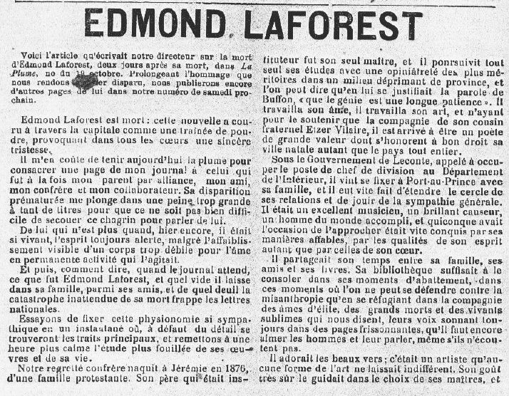 Edmond Laforest