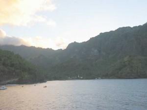la baie de Vaitahu