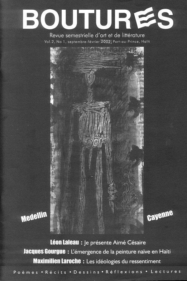 Couverture Boutures, vol 2, nº 1