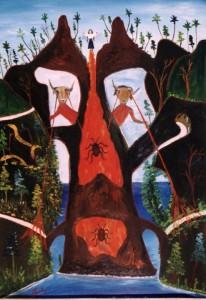 Un passage gardé de Préfète Duffaut (1975). Collection particulière de Michel Monnin, photo de Bill Bollendorf.
