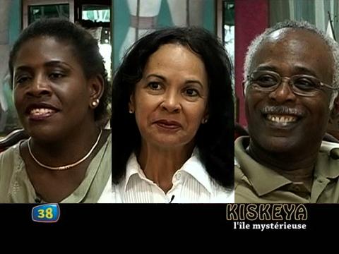 Emmelie Prophète, Mimi Gabriel et Eddy Cavé