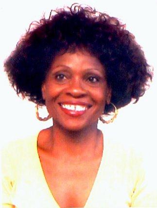 Sylviane Telchid, photo © Jean-Louis Telchid Capesterre-Belle-Eau, 2000