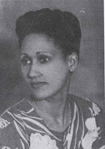 Mayotte Capécia, photo d'archives, D.R., vers 1945