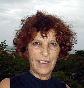Anne Cheynet, photo © Thomas C. Spear 3 mai 2004, Saint-Pierre (île de La Réunion)