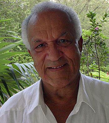 Georges Mauvois, photo © Yves Mauvois Ravine-Touza (Schœlcher, Martinique), 28 janvier 2006