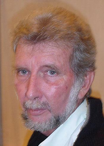 Bernard Montabo, photo © Thomas C. Spear Salon du Livre de Paris, 23 mars 2004
