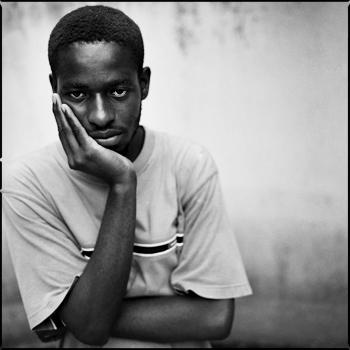 Fred Edson Lafortune, photo © Antoine Tempé Port-au-Prince, juin 2007